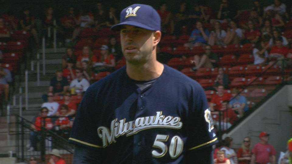 Fiers strikes out four