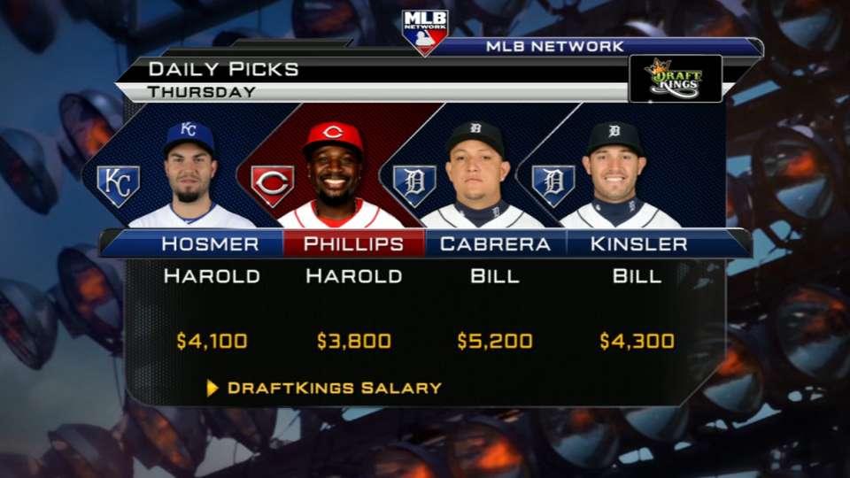 DraftKings Daily Picks: April 9