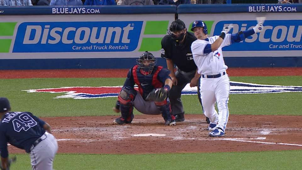 Donaldson's two homers