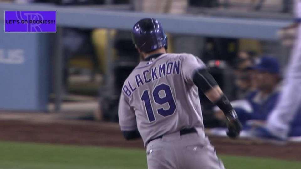 Blackmon's two-run jack