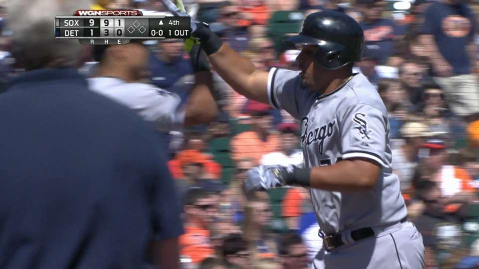 White Sox tally seven in 4th