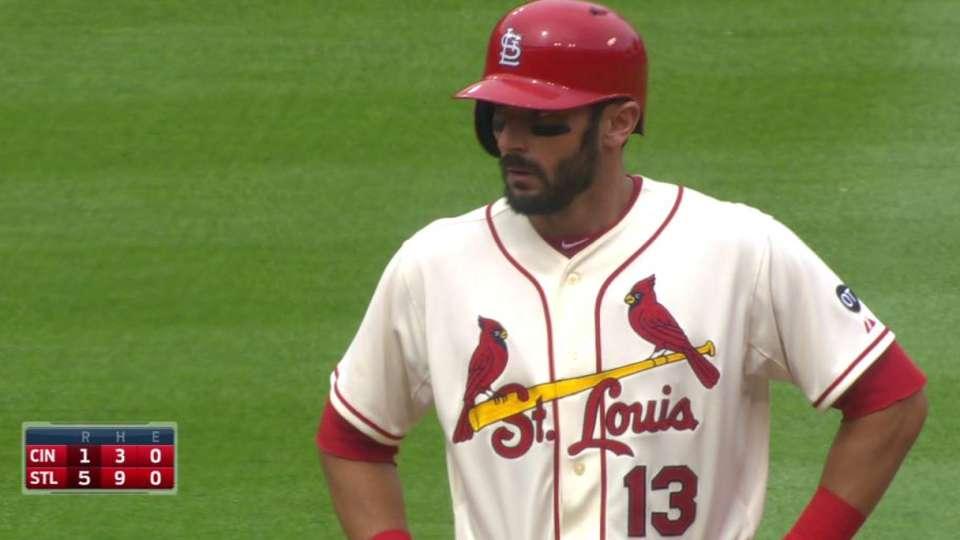 Carpenter's long two-run double
