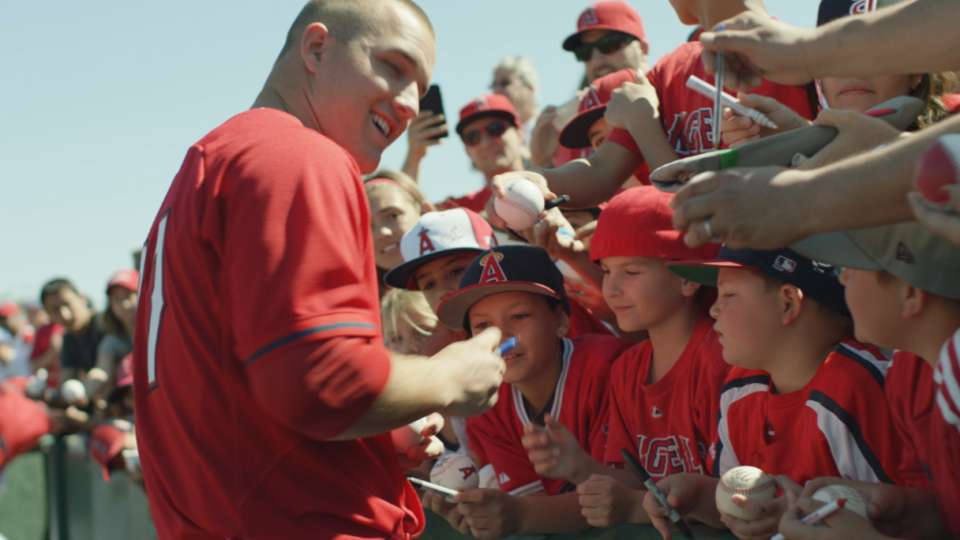#THIS: Trout and his fans