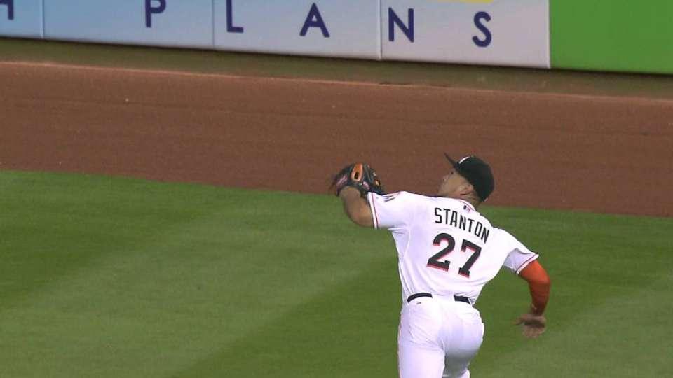 Stanton's great grab