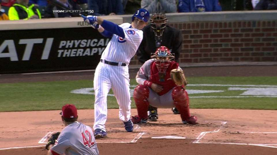 Rizzo's two-run homer