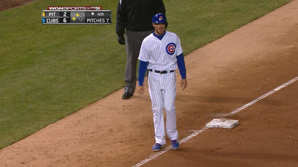 Cubs' two double steals