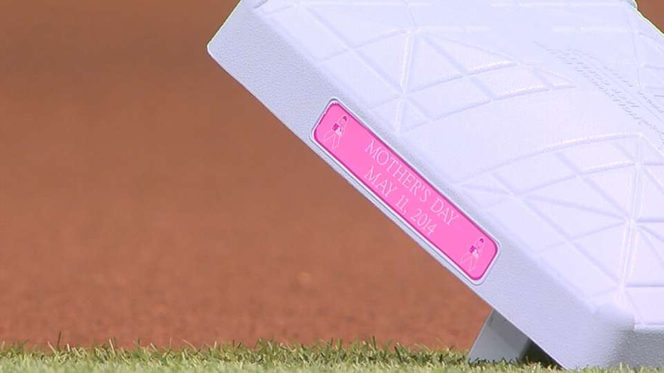 MLB celebrates Mother's Day 2014