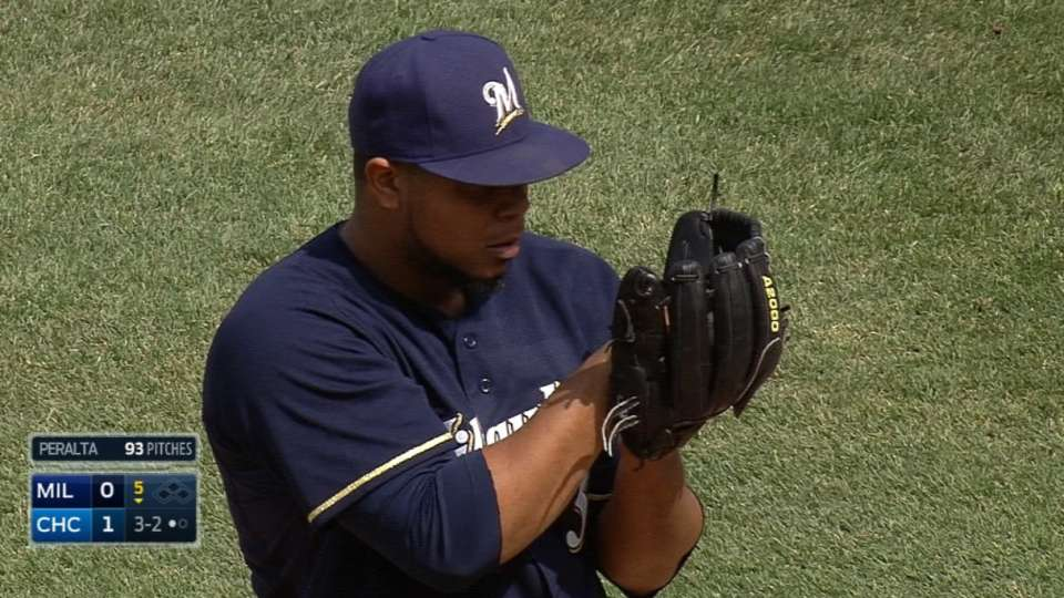 Peralta's strong outing