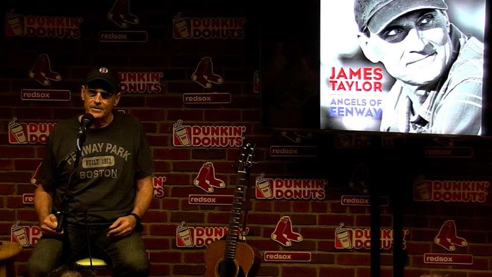 James Taylor debuts new song