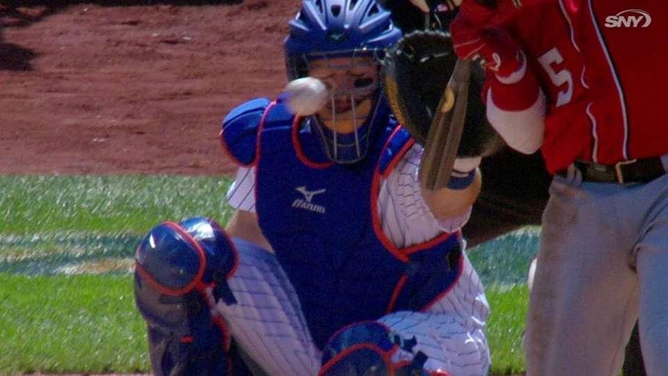 Mets challenge HBP