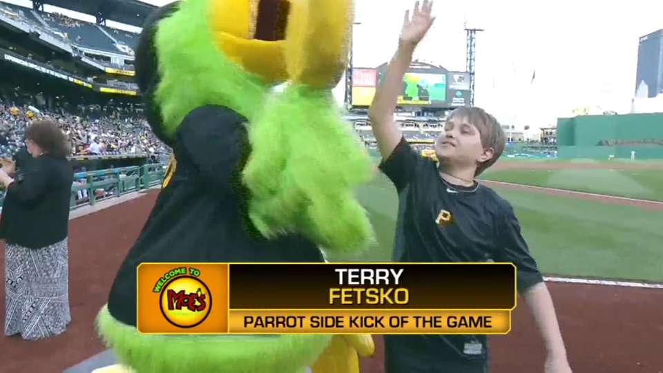 Parrot Side Kick at PNC Park