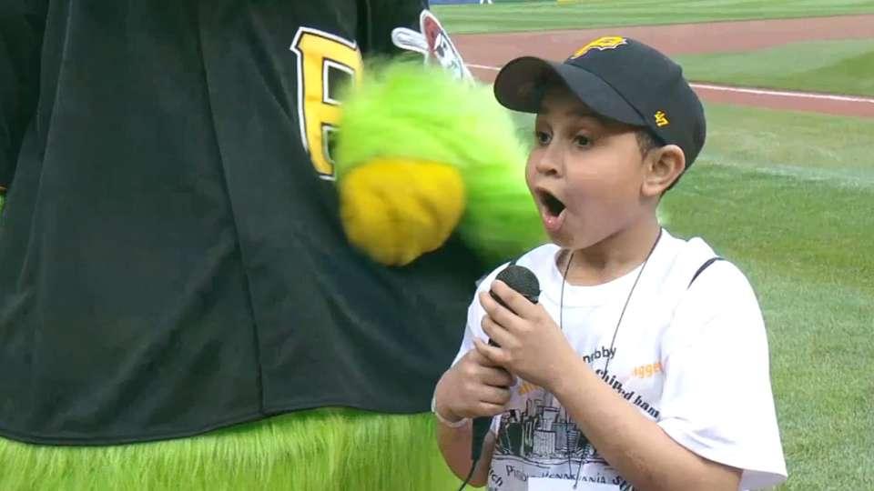 Parrot Side Kick at PNC Park