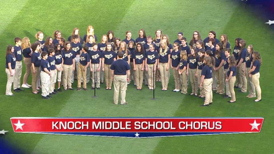 Knoch M.S. performs at PNC Park
