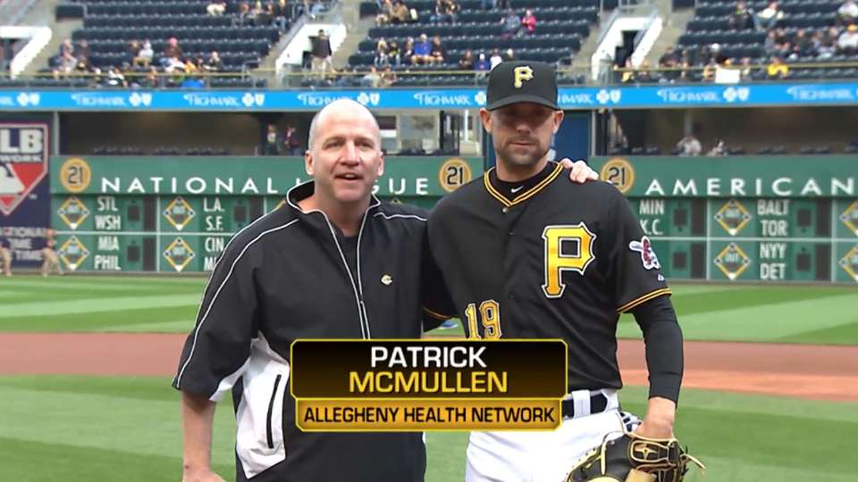 Pirates First Pitch: McMullen