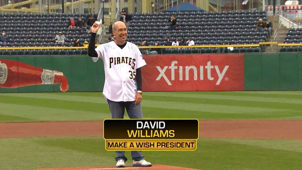 Pirates First Pitch: Williams
