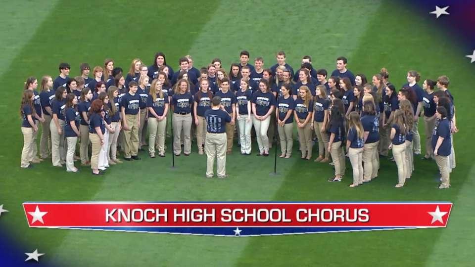Knoch HS Chorus perform at PNC