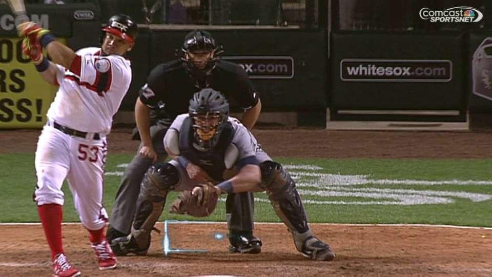 Melky's clutch three-run homer