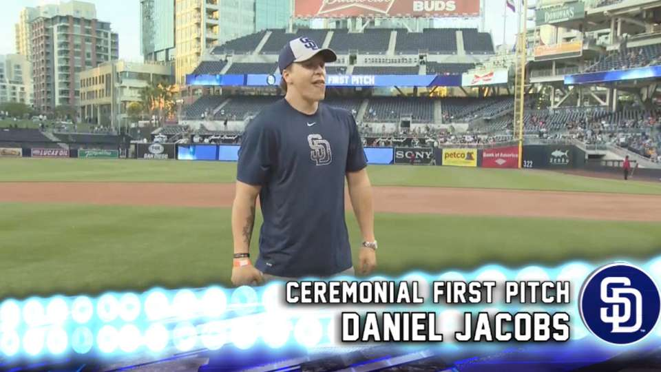 First Pitch: Daniel Jacobs