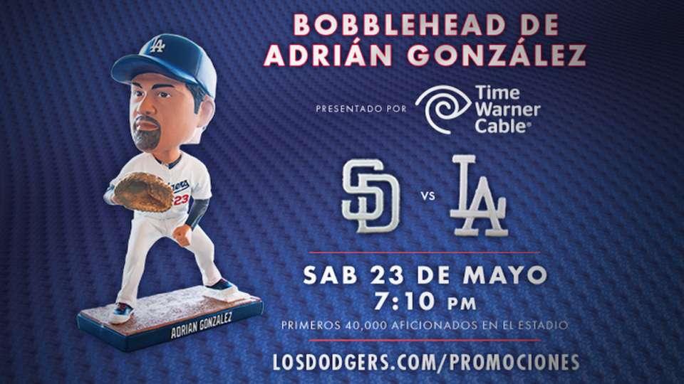 Bobblehead de Adrian Gonzalez