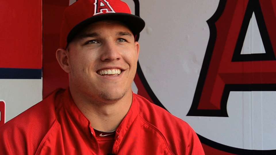 Trout on his father