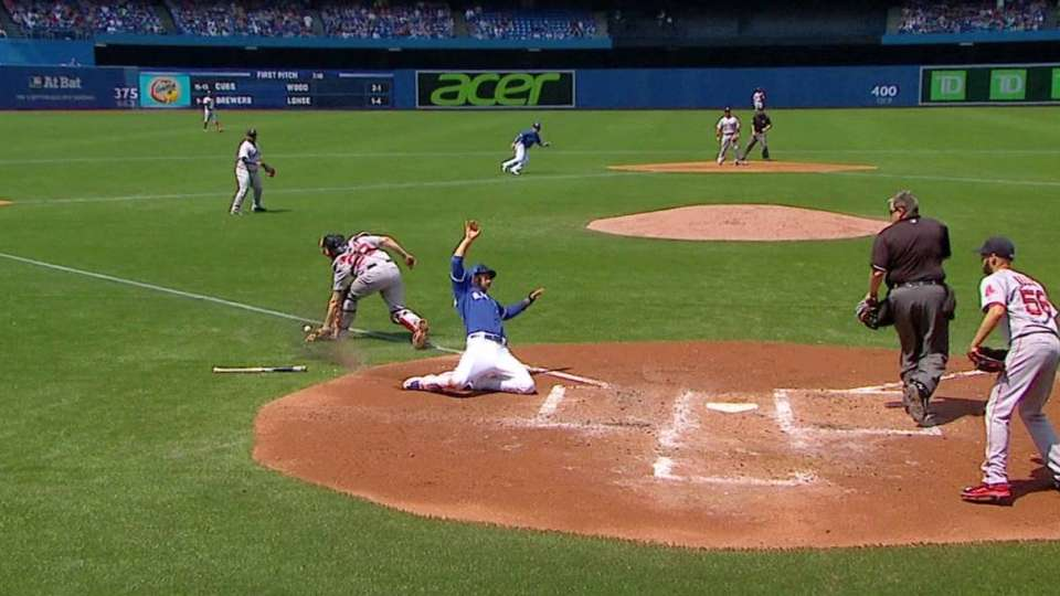 Donaldson's RBI single