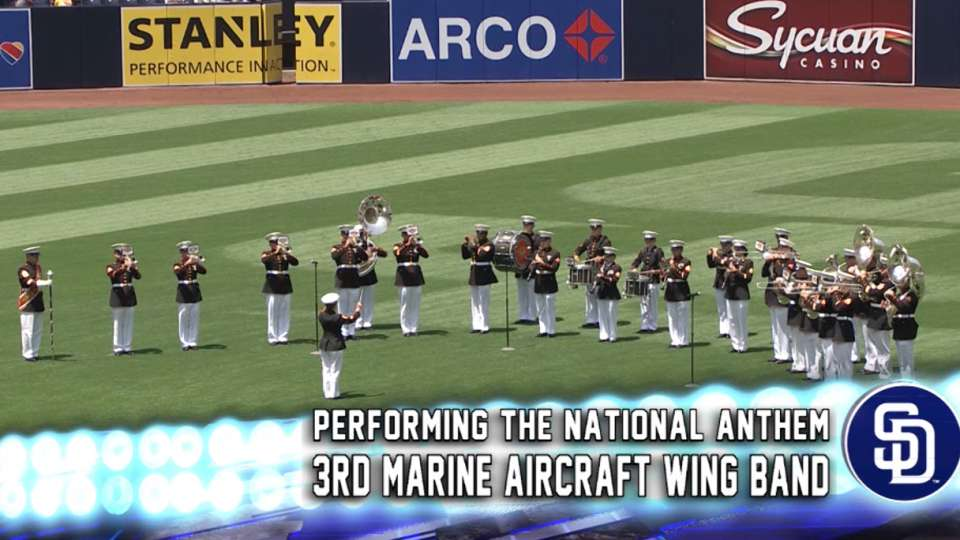 Padres national anthem