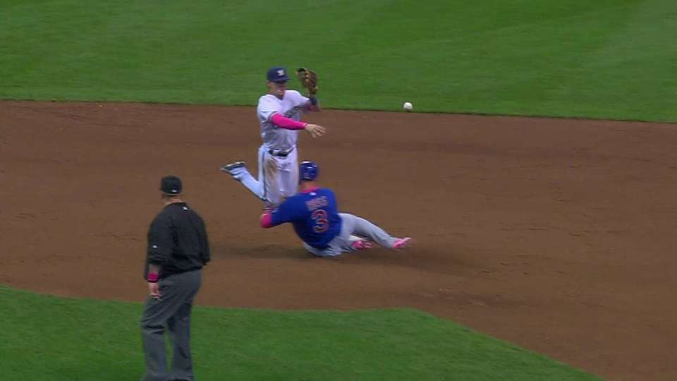 Umpires rule DP on interference