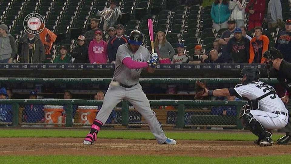 Gordon hit by pitch