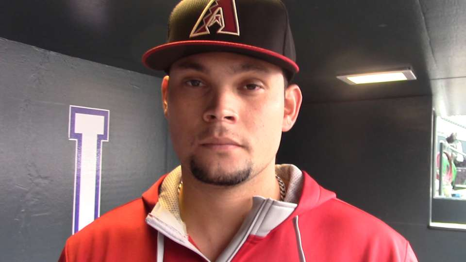Hernandez contento en D-backs