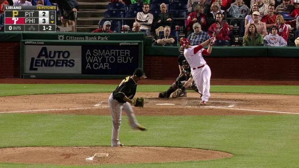 Liriano's sixth strikeout