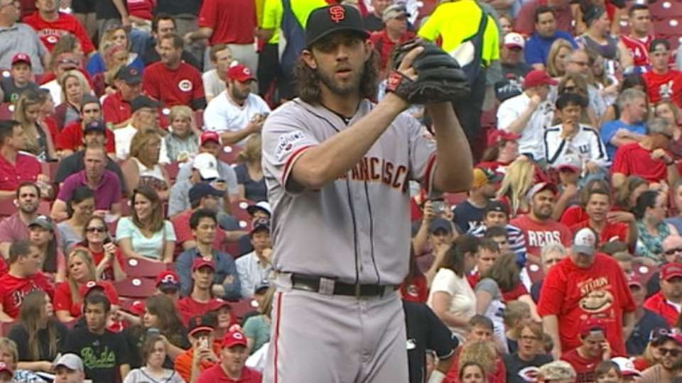 Bumgarner's strong outing