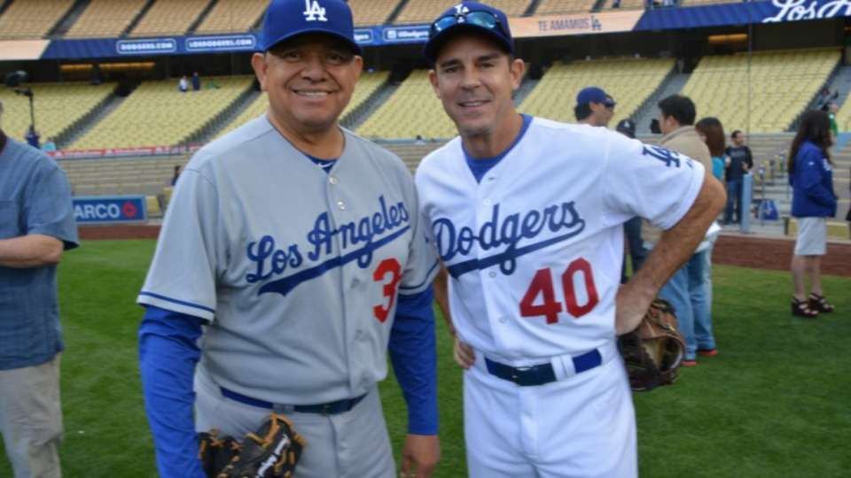 Billy Bean at Old-Timers Game