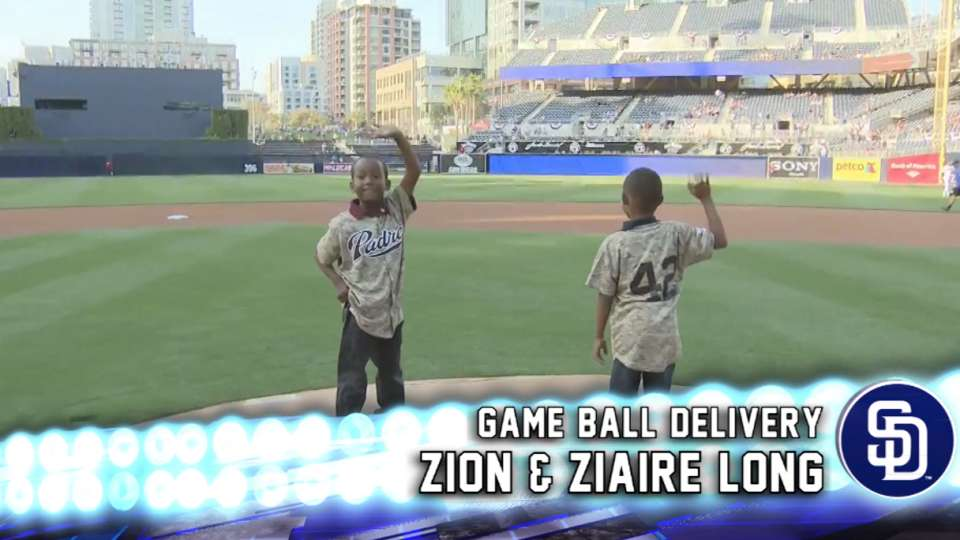 Padres Game Ball Delivery