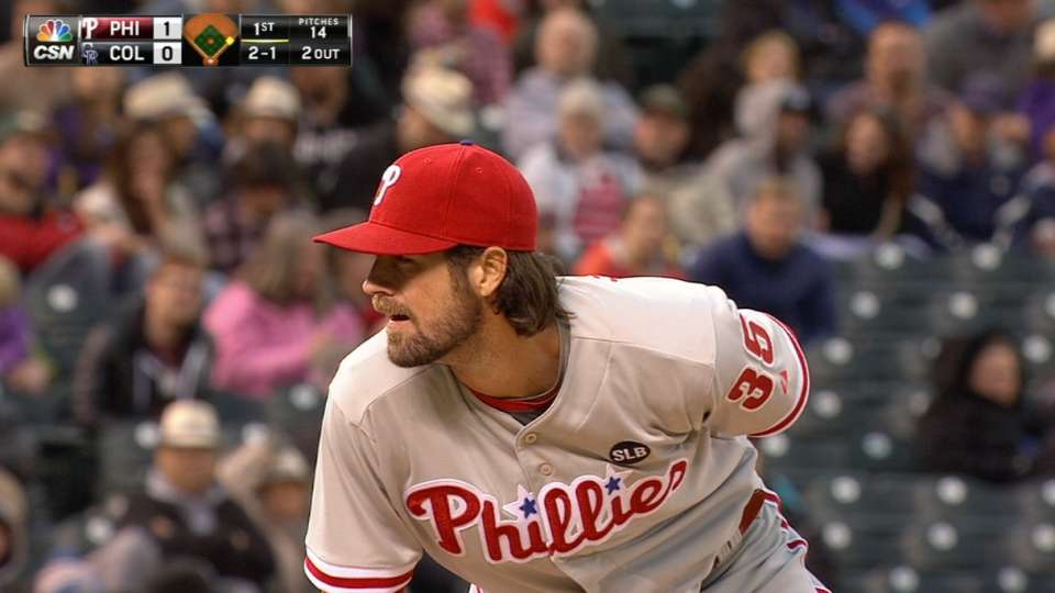 Hamels' one-run outing
