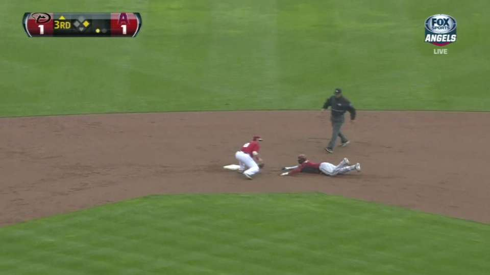 Grichuk's strong throw