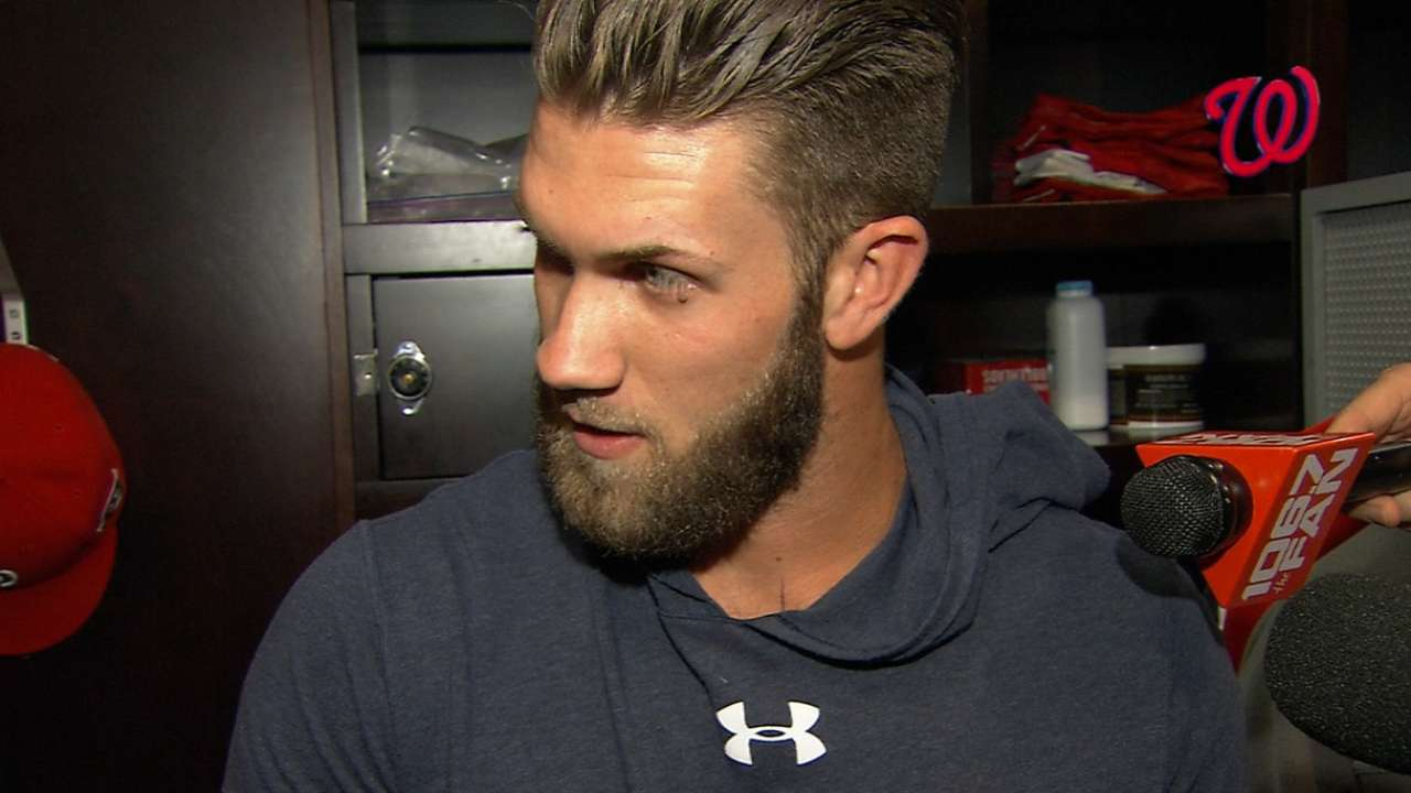 Richard Justice Nationals Outfielder Bryce Harper Too Good