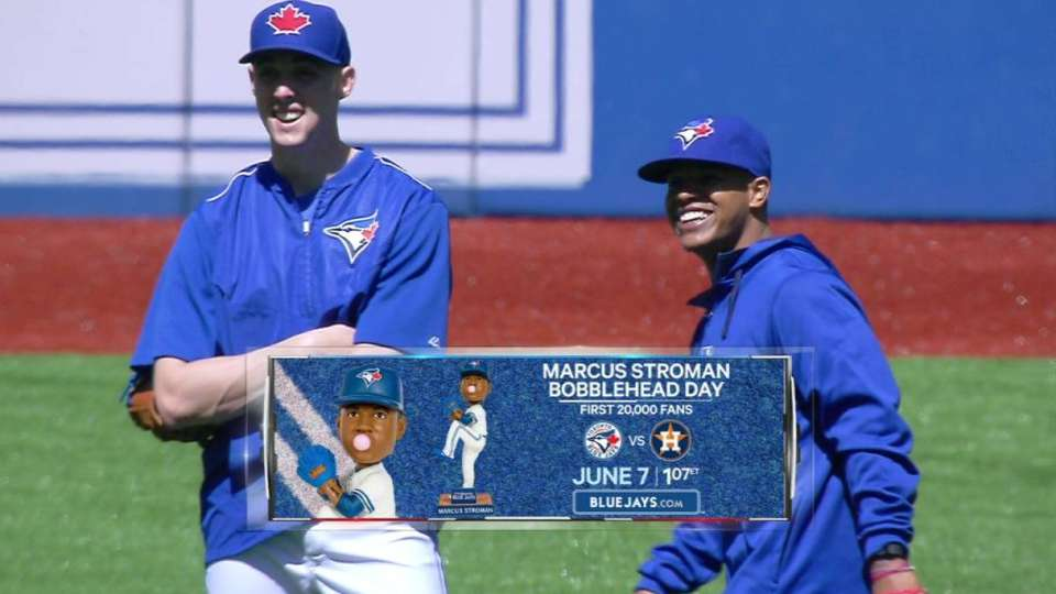 Stroman continues to rehab knee