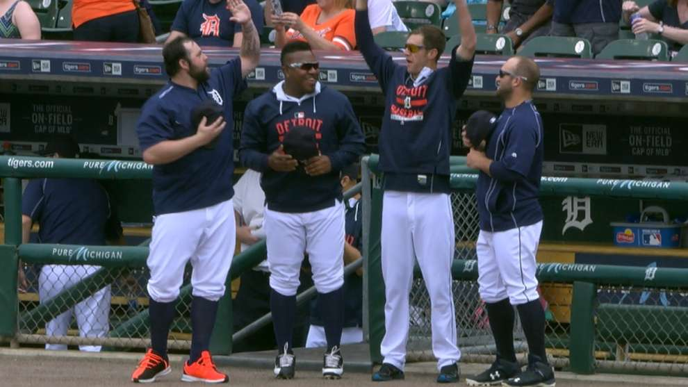 Three's a trend: Another pregame standoff, this time between the Astros and Tigers