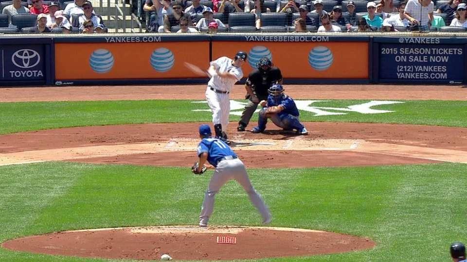 Headley's two-run homer