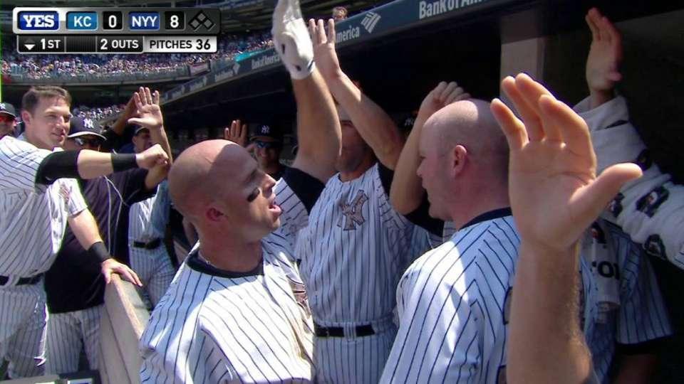 Gardner's three-run home run