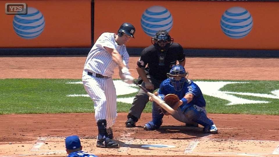 Yankees' eight-run inning