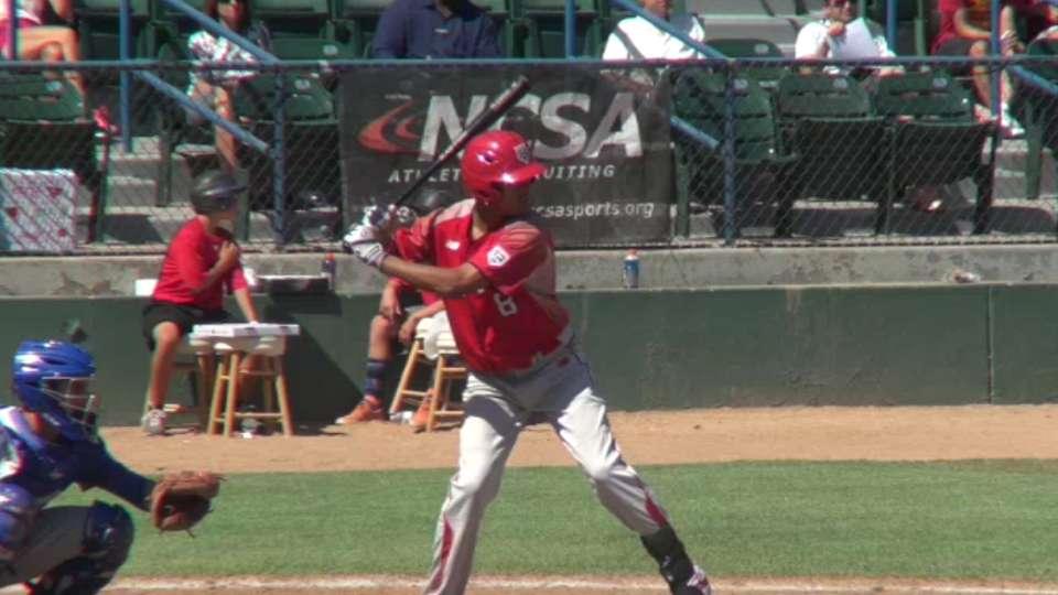 2015 Draft: Reggie Pruitt, OF