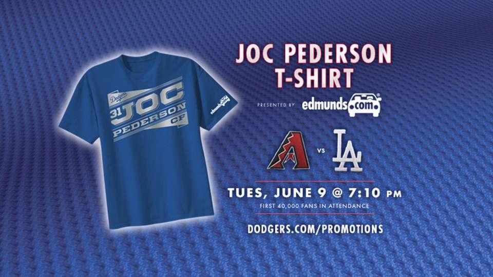 competitive price 3f84e eb01c Joc Pederson T-shirt