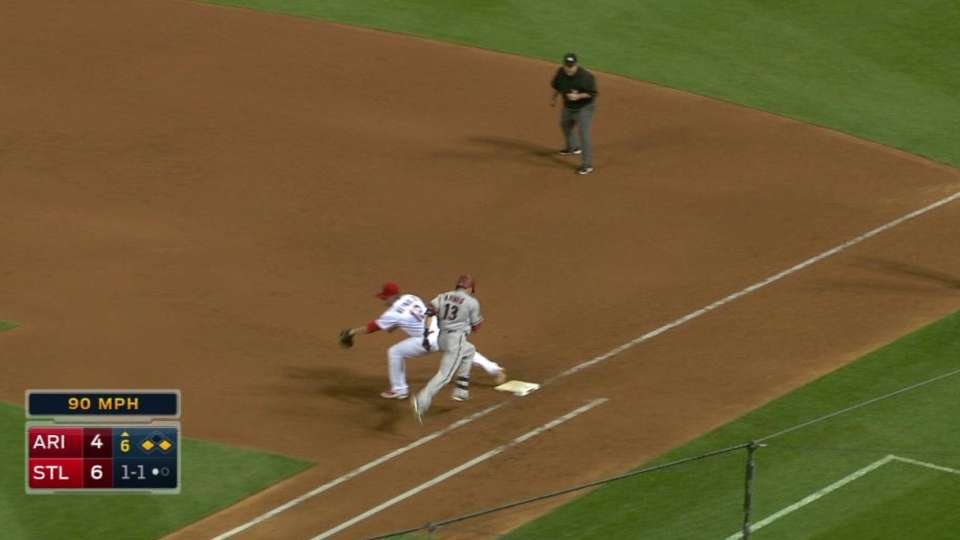 Cards turn 6-4-3 double play