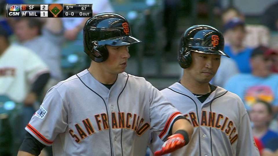 Panik's two-run homer