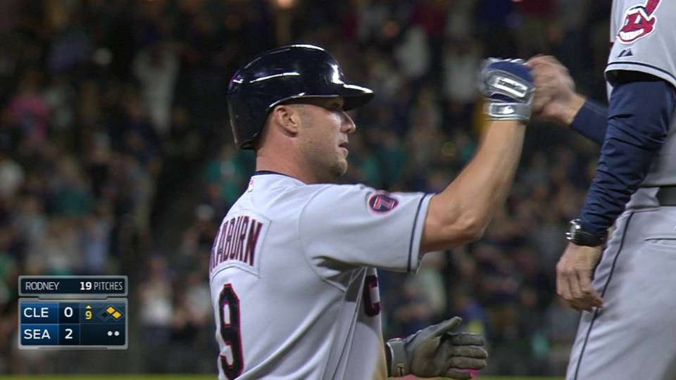 Raburn's RBI triple