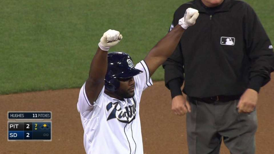 Almonte's two-run double