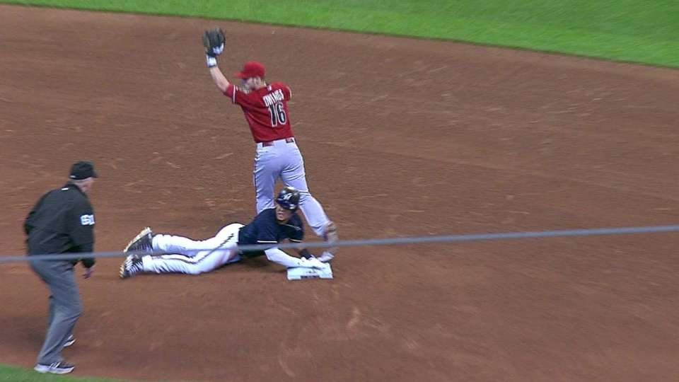 D-backs' double play stands
