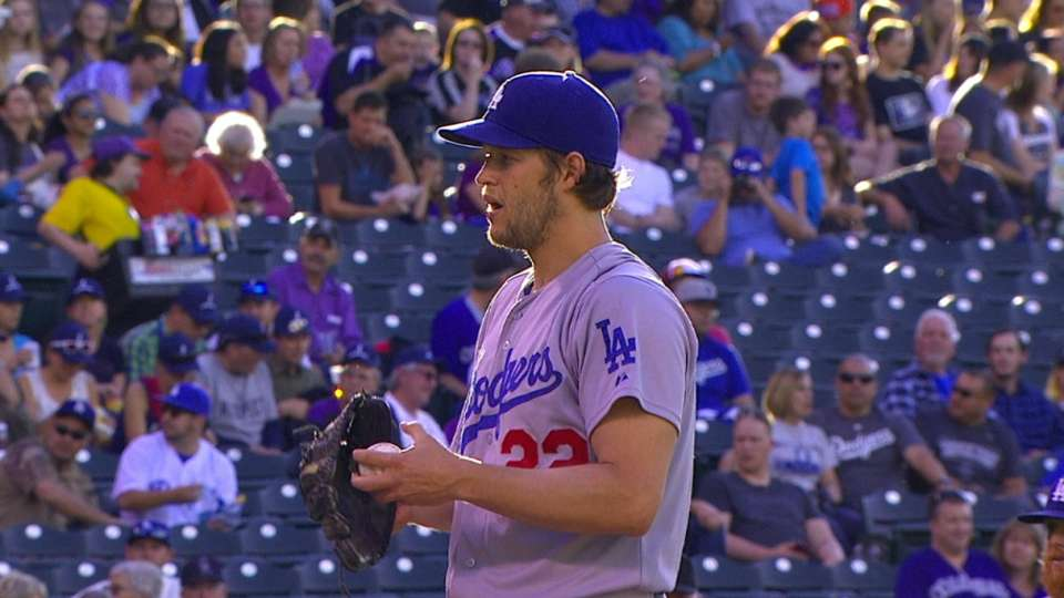Kershaw pitches, hits LA to win