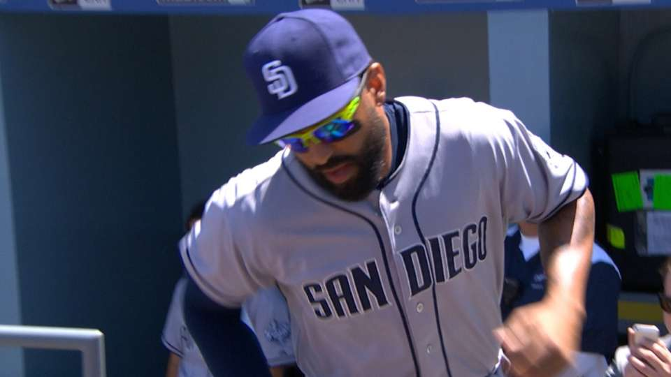 Padres starters introduced